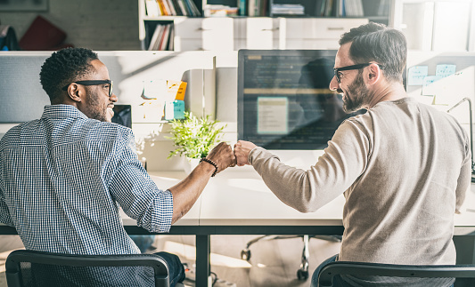 https://media.istockphoto.com/photos/first-bump-between-colleagues-at-work-everyday-work-in-the-office-picture-id1200075866?b=1&k=6&m=1200075866&s=170667a&w=0&h=PAVPcpsPOU6KV6421oxyMwXuJVEPd1gS50Ui7Izni5E=