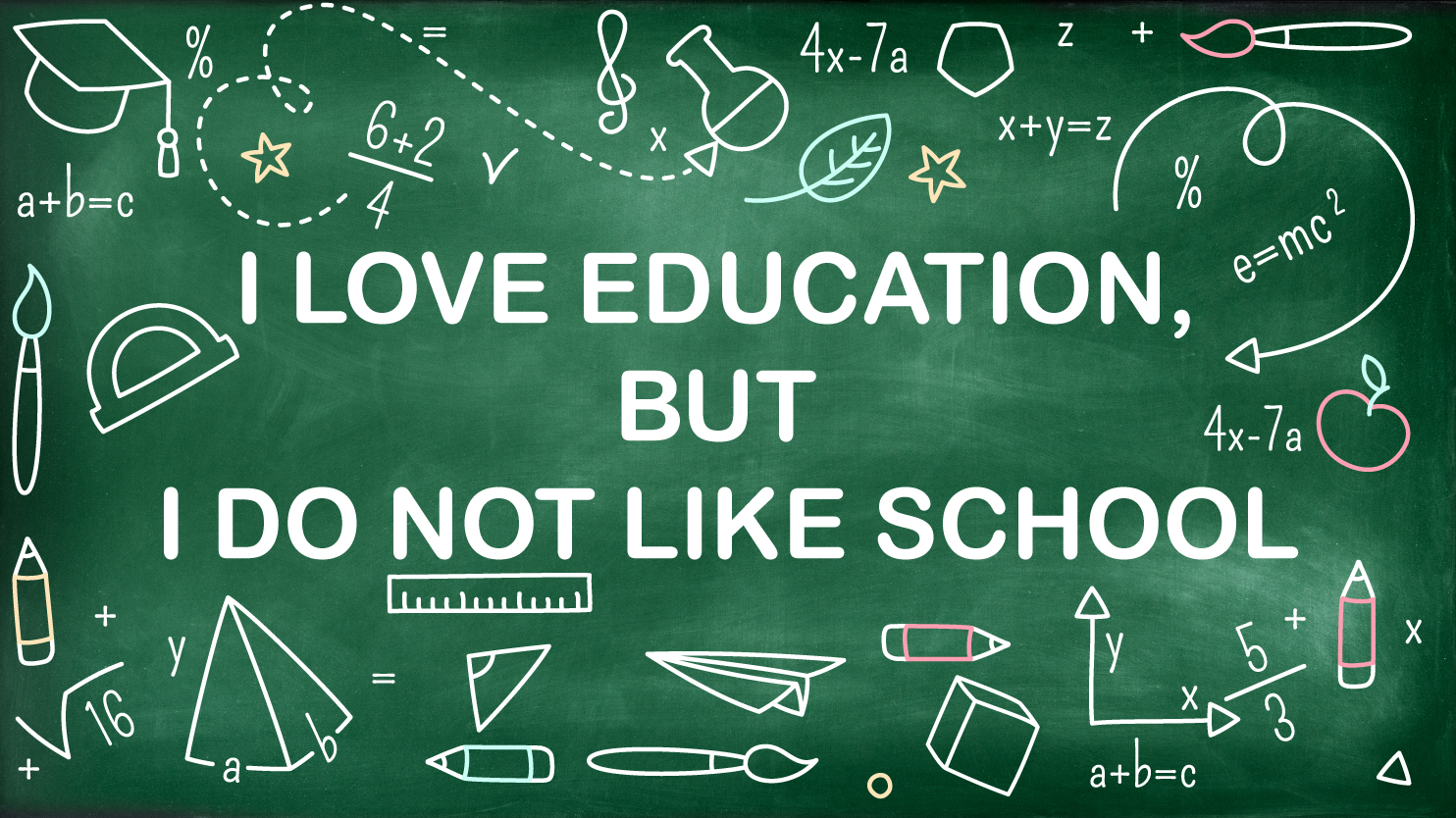 """Why I love Education but I don't like """"School"""""""